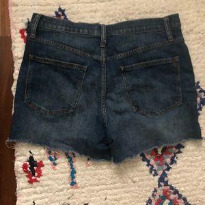Madewell Shorts - Madewell Highrise Denim Shorts 30